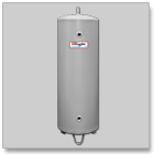 Electric tankless point-of-use water heater Model R